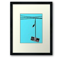 Wired Games Framed Print