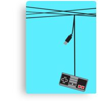 Wired Games Canvas Print