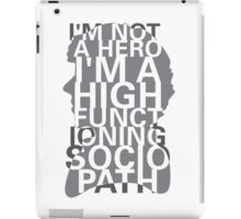 Not a Hero iPad Case/Skin