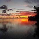 Tahitian Sunset by Kristin Hamm