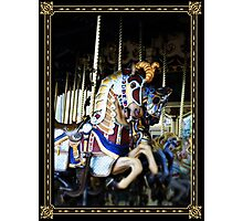 Carousel of Colour Photographic Print