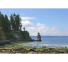 Seawall in Stanley Park Photographic Print