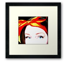 China Doll Framed Print