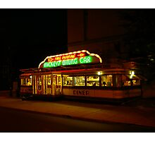 Mickey's Diner 2 Photographic Print