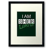 SherLokid Framed Print