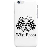 Wiki-Races! iPhone Case/Skin