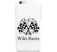 Wiki-Races! iPhone Case/Skin