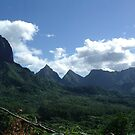 Tahiti Scenery #14 by Kristin Hamm