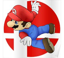 Super Smash Bros. - Mario Poster