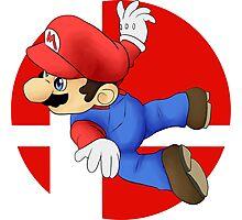 Super Smash Bros. - Mario Photographic Print