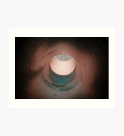 Apple Faced Aorta Art Print