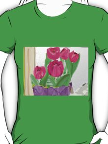 Tulips from Sally T-Shirt