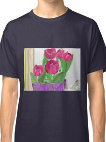 Tulips from Sally Classic T-Shirt