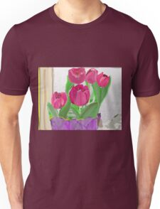 Tulips from Sally Unisex T-Shirt