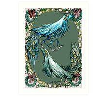 antlerbird Art Print