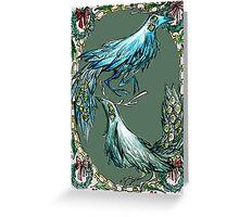 antlerbird Greeting Card