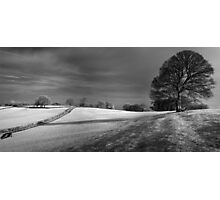 Mendip view Photographic Print