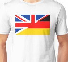 uk germany flag Unisex T-Shirt