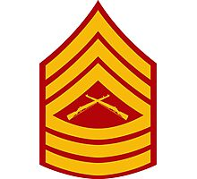 Master Sergeant - E8 Photographic Print