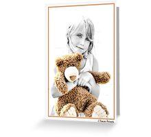 Me & My Teddie Greeting Card