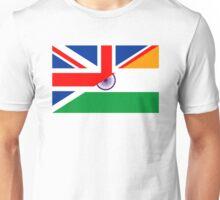 uk india flag Unisex T-Shirt