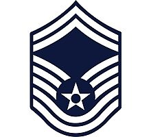 Air Force Senior Master Sergeant - E8 Photographic Print