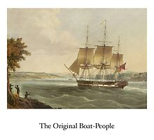 """The Original Boat-People"" Photographic Print"