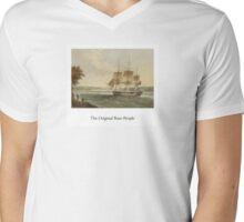 """""""The Original Boat-People"""" Mens V-Neck T-Shirt"""
