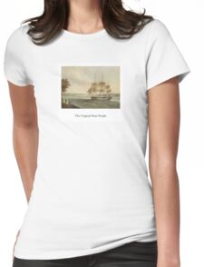 """""""The Original Boat-People"""" Womens Fitted T-Shirt"""