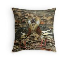cleverly camouflaged Throw Pillow