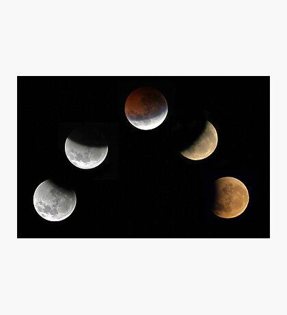Partial Lunar Eclipse - August 17 2008  Photographic Print