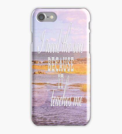 I Need the Sea iPhone Case/Skin