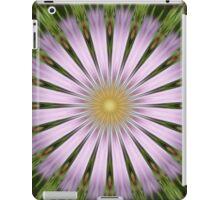 Green and Purple Starburst Photographic Manipulation iPad Case/Skin