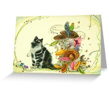 My Little Enchanted World Greeting Card