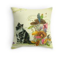 My Little Enchanted World Throw Pillow