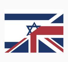 uk israel flag Kids Clothes