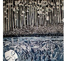 Secret Forest Dreams-Aquatint Etching Photographic Print