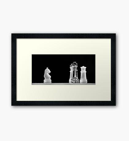 Chess 4: All men lost Framed Print