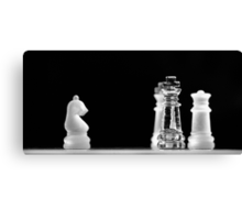 Chess 4: All men lost Canvas Print
