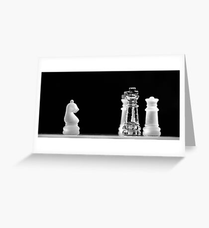 Chess 4: All men lost Greeting Card