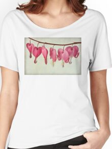 Hearts on the line Women's Relaxed Fit T-Shirt