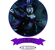 League Of Legends - LeBlanc by TheDrawingDuo