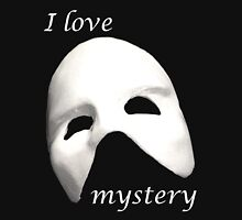 I love Mystery Womens Fitted T-Shirt