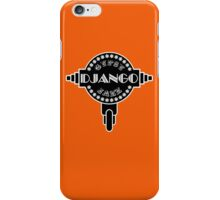 Django Gypsy Guitar CF iPhone Case/Skin