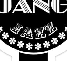 Django Gypsy Guitar CF Sticker