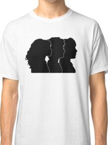 Hermione, Harry, Ron Silhouettes (Harry Potter) Classic T-Shirt