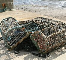 Staithes Crab Pots by DRWilliams
