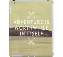 Worthwhile iPad Case/Skin