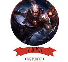 League Of Legends - Lucian by TheDrawingDuo