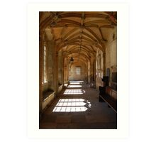 cloisters2 Art Print